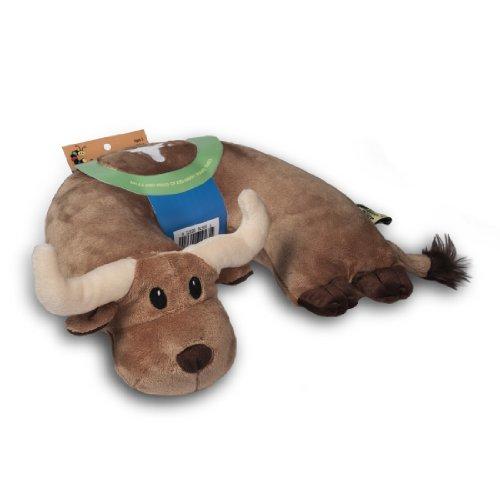 Critter Piller Pillow Brown Longhorn product image