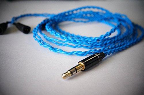 BuyJapan Blue Moon upgrade cable ◆Blue◆Sennheiser IE80,IE8