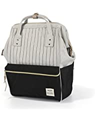 Striped Backpack For Women, Teens, Men, Boys and Girls Fashion Backpacks
