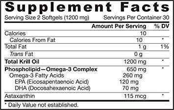 Amazon.com: Krill aceite, soportes de cerebro, memoria, energía, Salud Cardiovascular, 60 cápsulas con el titular de píldora llavero gratis: Health ...