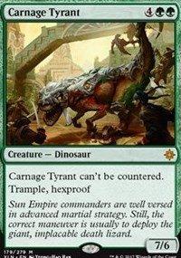 Carnage Tyrant - Ixalan from Magic the Gathering