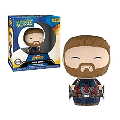 Funko Dorbz Marvel: Avengers Infinity War - Captain America with Weapons: Toys & Games
