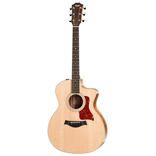 Taylor 214ce 200 Series Acoustic Guitar, Rosewood, Grand Auditorium, Cutaway, ES-T from Taylor Guitars