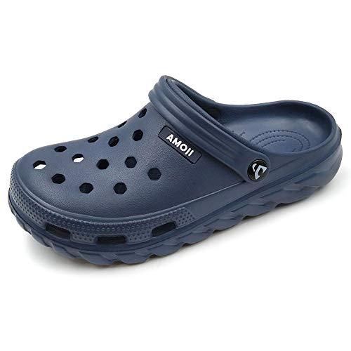 Amoji Unisex Garden Clogs Shoes AM1521
