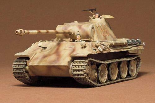 Tamiya Models German Pzkfw V Panther Ausf A Model ()