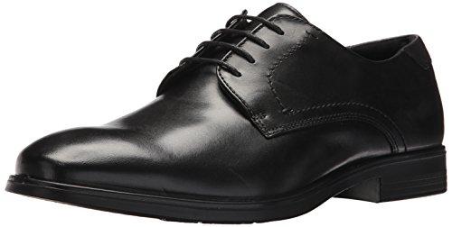 ECCO Men's Melbourne Tie Oxford, Black/Magnet, 44 EU/10-10.5 M - Black Ecco Tie