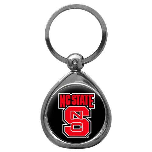 NCAA North Carolina State Wolfpack Key Chain, Metal/Chrome, One Size ()