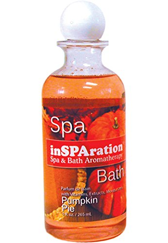 inSPAration Spa and Bath Aromatherapy 100HOLPPX Spa Liquid, 9-Ounce, Holiday Pumpkin Pie