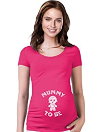 TeeStars - Mummy To Be Halloween Pregnancy Mom To Be Funny Maternity Shirt