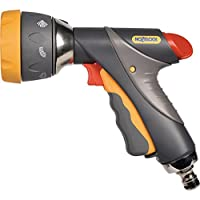 Hozelock Multi Spray Pro Gun, Grey/Yellow, 16x10x8 cm