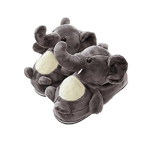 Lanfire Coton Accueil Pantoufles Chien De Canard dérapant Hiver Chaud Anti Éléphant xQWrBoCedE