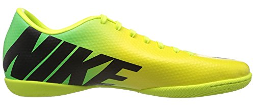 Nike Men's Mercurial Victory IV IC Vibrant Yellow/Neo Lime/Metallic Silver/Black  12 D - Medium