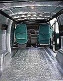 108 sqft Vehicle Car Insulation Heat Sound Deadener Thermal Automotive 1/4 foam