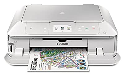 Canon MG7720 Wireless All-In-One Printer with Scanner and Copier: Mobile and Tablet Printing, with AirprintTM and Google Cloud Print compatible, White