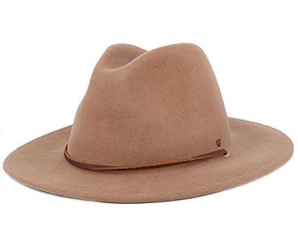 Brixton Field Hat Khaki Fedora  Amazon.co.uk  Clothing 025a942b776
