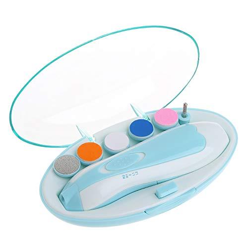 Pie eléctrico Bebé Pulidor eléctrico de uñas Tijeras de uñas para bebés Anti-Clip Carne Niños recién Nacidos Especial...
