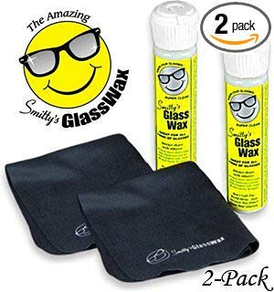 Smitty's Glass Wax - Two Pack (Removal Screen Scratch)