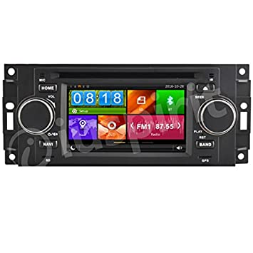GPS DVD USB SD Bluetooth Radio Navegador Jeep Compass Jeep Commander Jeep Grand Cherokee Jeep Wrangler