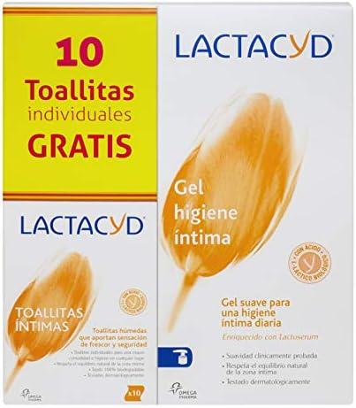 Gel de higiene íntima diario Lactacyd Íntimo