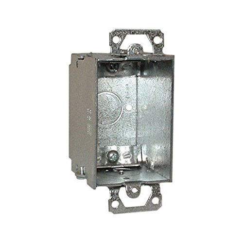Hubbell Raco 519 Single Gang Switch Box With Clamps