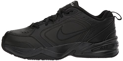 NIKE AIR MONARCH IV (MENS) - 6 Black/Black by Nike (Image #5)