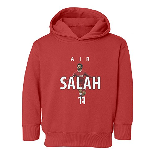 Tcamp Soccer Liverpool Air Salah  11 Mohamed Salah Little Kids Girls Boys  Toddler Hooded Sweatshirt (Red e7ce279f2