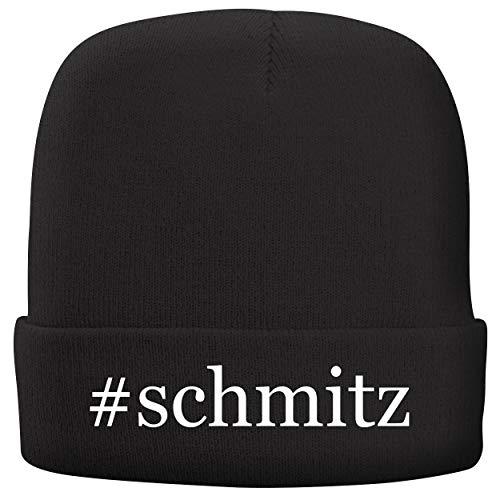 BH Cool Designs #Schmitz - Adult Hashtag Comfortable Fleece Lined Beanie, Black (Jimmy Katze)