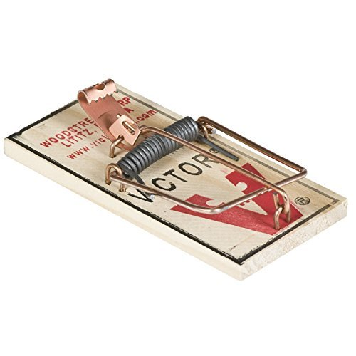 Victor M154 Metal Pedal Mouse Trap, Pack of 8 - Mouse Trap Boats