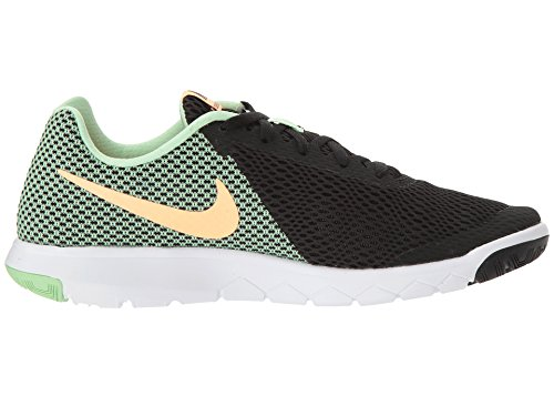 Nike Wmns Flex Experience Rn 6, Sneakers Femme Noir (Black/sunset Glow/fresh Mint/white)