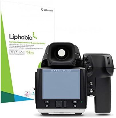 New New Gilrajavy Liphobia Hasselblad H5D-200Ms Hi Clear Camera Screen Protector 2Pcs Anti-Fingerprint Guard Clean