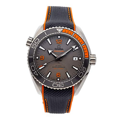 Omega Titanium Bracelet - Omega Seamaster Mechanical (Automatic) Grey Dial Mens Watch 215.92.44.21.99.001 (Certified Pre-Owned)