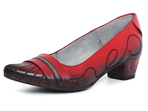 08 Rosso Rot 03202 00 Décolleté Donna 5 Maciejka Scarpa rot qpYvft