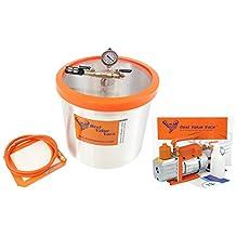 LeDAB Pack - BVV Brand 5 Gallon Vacuum Chamber and 7CFM Single Stage Vacuum Pump *FREE SHIPPING*