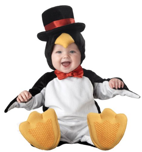 InCharacter Costumes Baby's Lil' Penguin Costume, Black/White/Yellow, Large