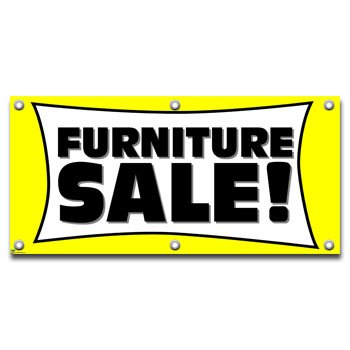 furniture sale sign. Furniture Sale - Retail Store Business Sign Banner E