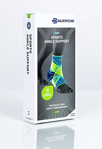 Bauerfeind Sports Ankle Support - Breathable Compression (Black, Medium/Right) Photo #7