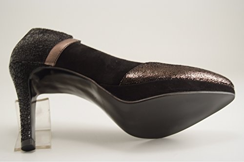 Reqins - Zapatos de vestir para mujer negro