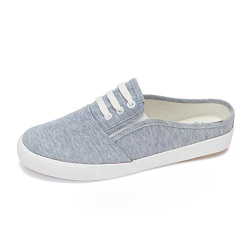 Silvestre para ayudar a los zapatos de lona bajos/zapatos casuales/ Sandalias y zapatillas transpirable mitad/Zapatos de la Junta B