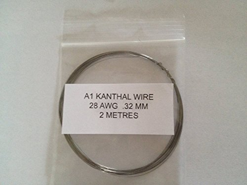 30//28//26//24//22 AWG Kanthal A1 Type Resistance Wire Pack 5 x 25 Metre Spools by The Crazy Wire Company Big 5 Starter Pack