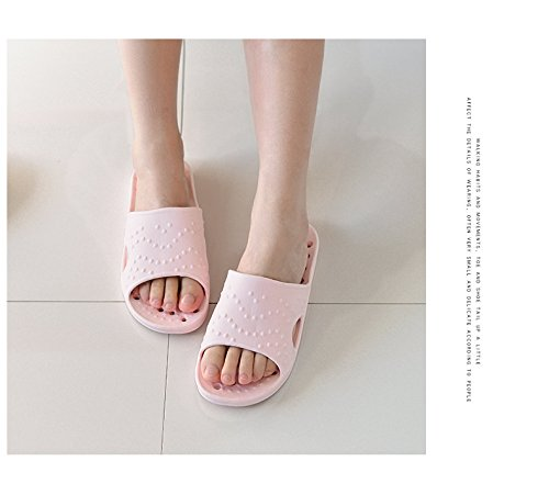 40 slippers Pink indoor for Antiskid bathroom 39 vq1PZZw