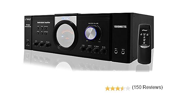 Pyle-Home PT1100 1000W Power Amplifier