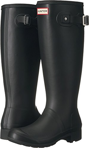 Hunter Women's Original Tour Packable Rain Boot Black