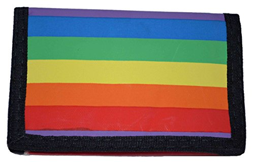 (Rainbow Wallet Trifold )