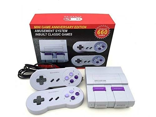 Super Classic Edition system Video Game Console retro Built-in 660 Classic Video Games AV Output TV Game System Bring Back Childhood Memory from AIXINAG