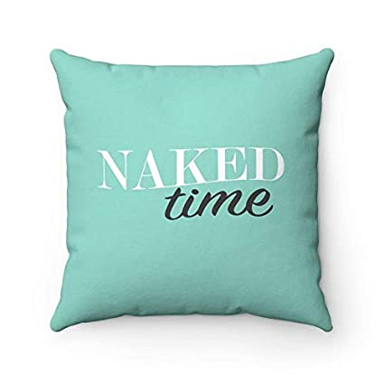 Amazon.com: Blafitance Naked Time Pillow, Naked Time, Naked ...