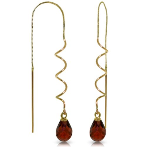 14k-solid-gold-garnet-threaded-earrings