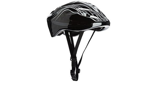 Amazon.com : eDealMax Mapa de abastecimiento de protección Magnum Ciclismo monopatín Casco Armadura - Negro : Sports & Outdoors