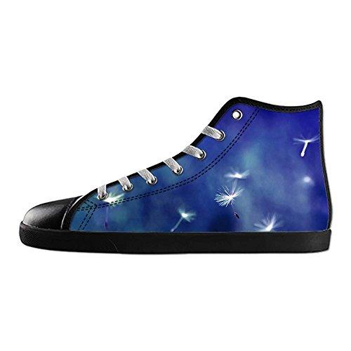 Dalliy Dandelion Mens Canvas shoes Schuhe Lace-up High-top Sneakers Segeltuchschuhe Leinwand-Schuh-Turnschuhe E