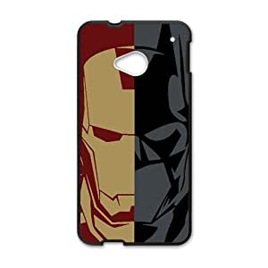 Batman and Iron Man Cell Phone Case for HTC One M7