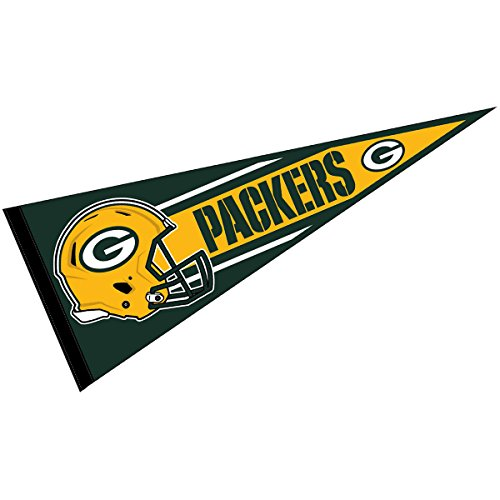 WinCraft Green Bay Packers Official NFL 30 inch Large Pennant -